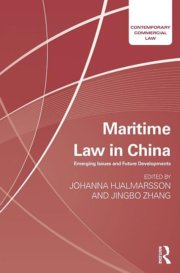 Maritime Law in China PDF