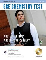 GRE Chemistry Test PDF