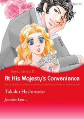 At His Majesty's Convenience: Mills & Boon Comics