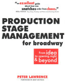 Production Stage Management for Broadway PDF