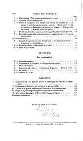 Le droit international codifié