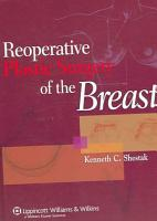 Reoperative Plastic Surgery of the Breast PDF