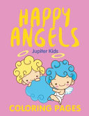Happy Angels (Coloring Pages)