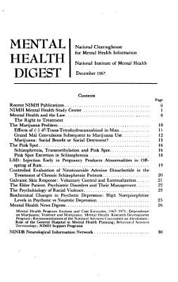 Mental Health Digest PDF