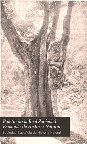 Boletin de la Real Sociedad Española de Historia Natural: Volumen 3