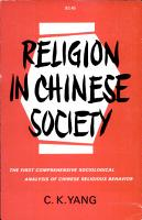 Religion in Chinese Society PDF