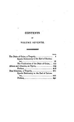 The Works of John Dryden   The duke of Guise  a tragedy  Albion and Albanius  an opera  Don Sebastian  a tragedy PDF