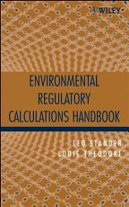 Environmental Regulatory Calculations Handbook PDF