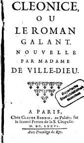 Cleonice ou le roman galant