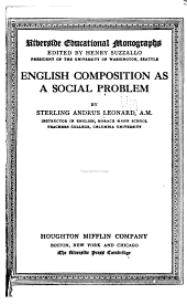 English Composition as a Social Problem