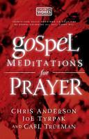 Gospel Meditations for Prayer