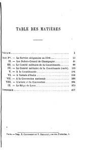 L'armée et la révolution, Dubois-Crancé (Edmond-Louis-Alexis) mousquetaire, constituant, conventionnel, général de division, ministre de la guerre, 1747-1814: Volume1