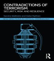Contradictions of Terrorism PDF