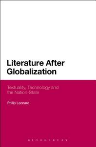 Literature After Globalization Book