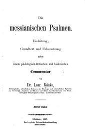 Die messianischen Psalmen