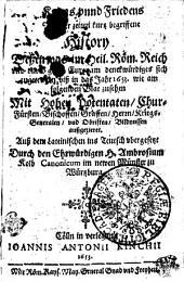 Kriegs und Fridens unserer Zeiten History0: Volume 2