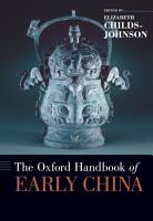 The Oxford Handbook of Early China PDF
