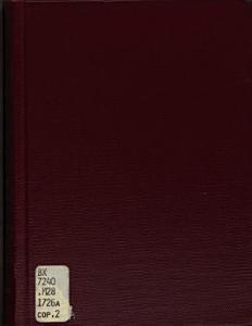 Ratio Disciplinae Fratrum Nov Anglorum Book