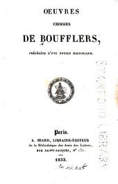 Oeuvres choisies de Boufflers
