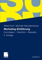 Marketing Einf  hrung PDF