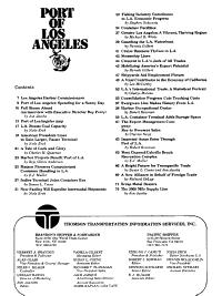 Port of Los Angeles 75th Anniversary Celebration  September 11  1982 PDF