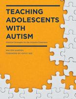 Teaching Adolescents with Autism PDF
