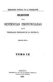 Semanario judicial de la Federación: Volumen 2;Volumen 9