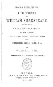 The works of William Shakspeare: Volume 2