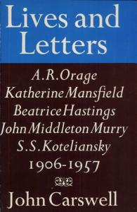 Lives and Letters PDF