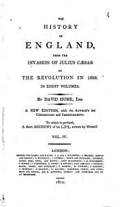 The history of England  from the invasion of Julius C  sar to the revolution in 1688  5 vols   in 9  The plates are dated 1797 to 1806   PDF