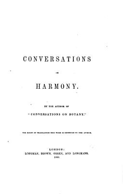Conversations on Harmony PDF