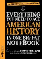 Everything You Need to Ace American History in One Big Fat Notebook PDF