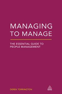 Managing to Manage Book