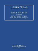 Daily Studies for the Improvement of the Saxophone Technique
