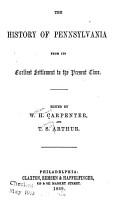 The History of Pennsylvania PDF