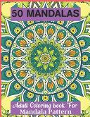 50 Mandalas Adult Coloring Book For Mandala Pattern PDF