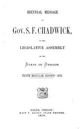 Messages and Documents Transmitted to the Legislature
