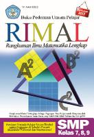 Buku Pedoman Umum Pelajar RIMAL Rangkuman Ilmu Matematika Lengkap SMP Kelas 7 8 9 PDF