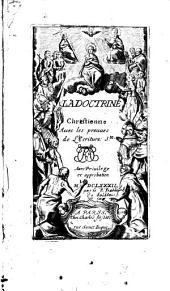 La doctrine chrétienne avec les preuves de l'écriture Sainte