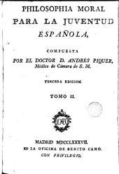 Philosophía moral para la juventud española, 2
