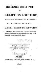 Description routière et géographique de l'empire Français divisé en quatre régions: Volume5