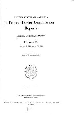 Federal Power Commission Reports
