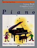 Alfred s Basic Piano Course Lesson Book Book