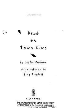 Dead on Town Line PDF