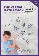 The Verbal Math Lesson Book 2