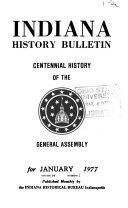 Download Indiana History Bulletin Book