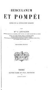 Herculanum et Pompéi: scènes de la civilisation romaine