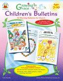 Growing in Grace Children s Bulletins PDF