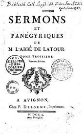 Sermons et Panégyriques