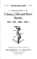 A Collection Of Choice Old And Rare Books Book PDF